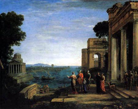 Claude Lorrain - Karthago mit Dido und Aeneas