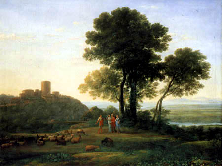 Claude Lorrain - Jacob und Laban