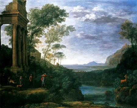 Claude Lorrain - The hunt of the Ascanius