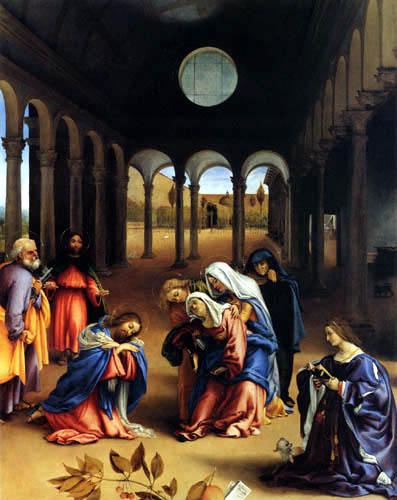 Lorenzo Lotto - Christi Abschied