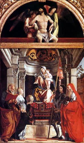 Lorenzo Lotto - Altar from Santa Cristina al Trivarone