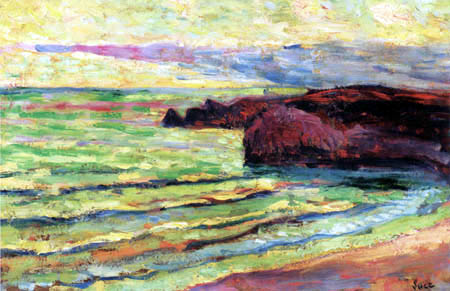 Maximilien Luce - Sea coast
