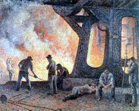 Maximilien Luce - Smeltery