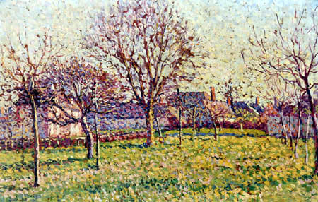 Maximilien Luce - The orchard near Eragny