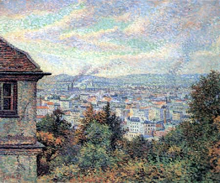 Maximilien Luce - Paris, view from Montmartre