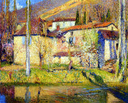 Maximilien Luce - Landschaft bei Toulouse