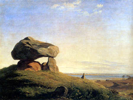 Johan Thomas Lundbye - Dolmen at Raklev
