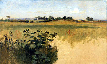 Johan Thomas Lundbye - Felder bei Aagerup Süd auf Vejby