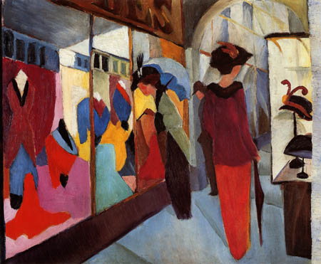 August Macke - Fashion Store