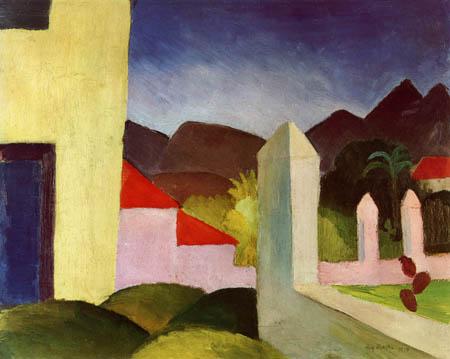 August Macke - Tunesische Landschaft
