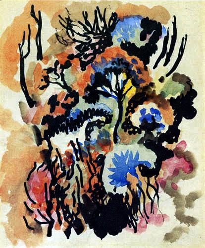 August Macke - Flowers