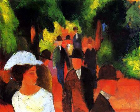 August Macke - Promenade