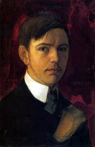 August Macke - Self-Portrait
