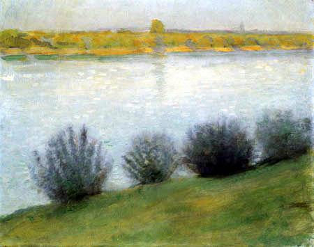 August Macke - Am Rhein bei Hersel