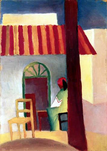 August Macke - Café turque I
