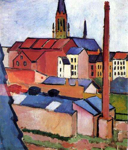 August Macke - Marienkirche