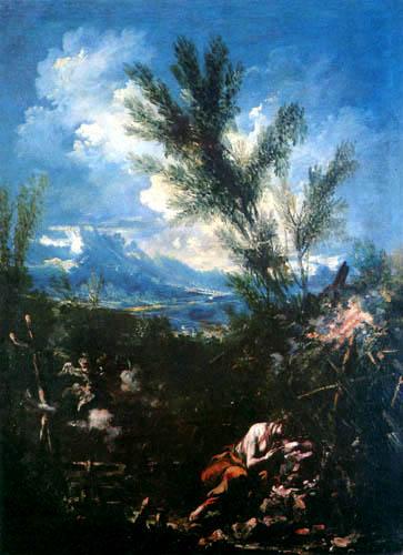 Alessandro Magnasco - The Penitent Magdalen