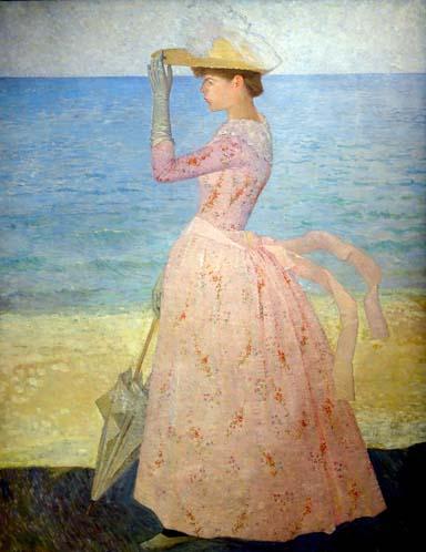 Aristide Maillol - The woman with the umbrella