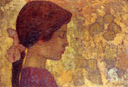 Aristide Maillol - Chica en perfil