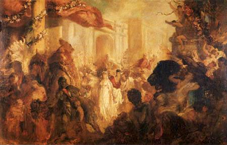 Hans Makart - Triumph course of a Roman