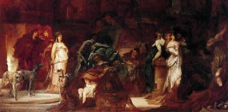 Hans Makart - The plague in Florenz