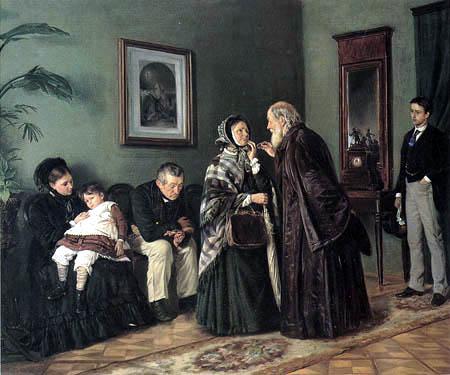 Wladimir Jegorowitsch Makowski - Im Wartezimmer des Arztes