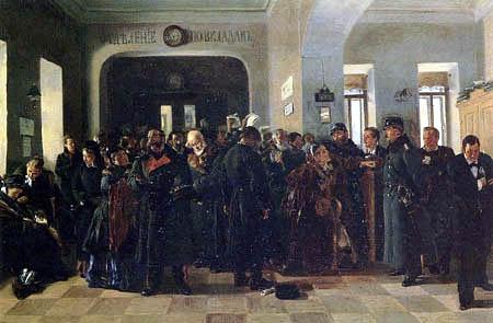Vladimir Yegorovich Makovsky - Bank crash
