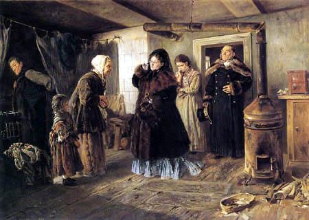 Wladimir Jegorowitsch Makowski - Armenbesuch