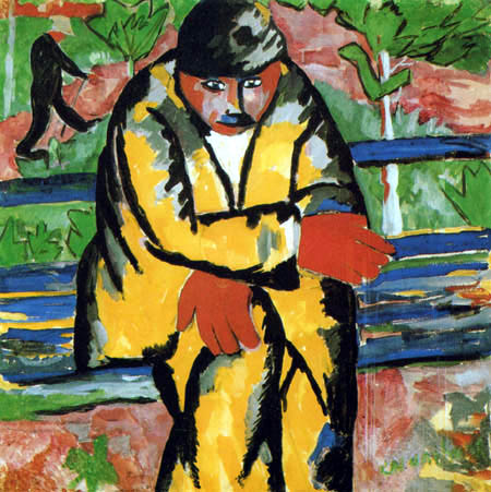 Kazimir Severinovich Malevich - On the Boulevard