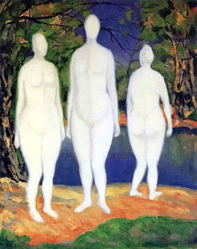 Kazimir Severinovich Malevich - Bathers