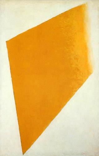 Kazimir Severinovich Malevich - Suprem - Yellow on White