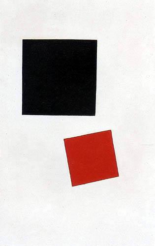 Kazimir Severinovich Malevich - Black and Red Square
