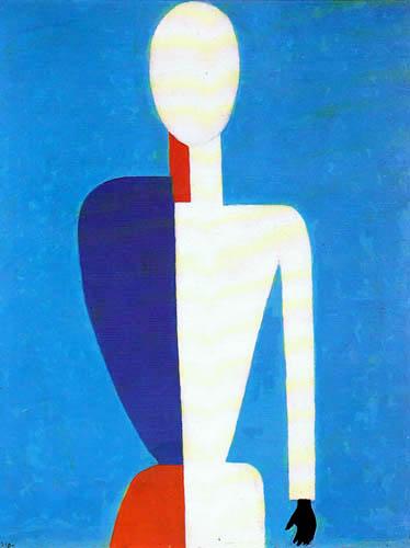 Kasimir Severínovich Malévich - Retrato de mujer