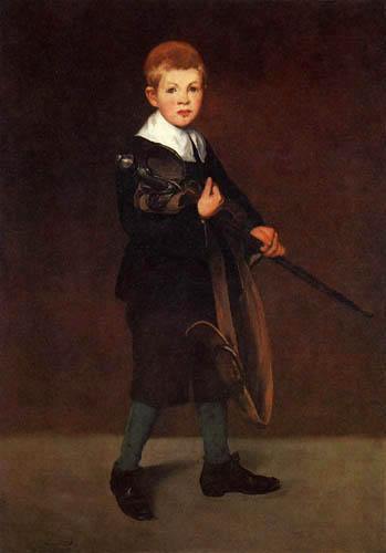 Edouard Manet - Der Junge mit dem Schwert