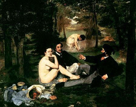 Edouard Manet - Frühstück im Grünen