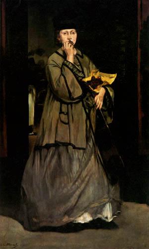 Edouard Manet - Die Straßensängerin