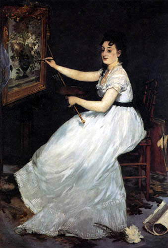 Edouard Manet - Bildnis Eva Gonzales