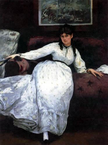 Edouard Manet - Die ruhende Berthe Morisot