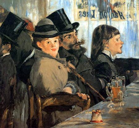 Edouard Manet - Café