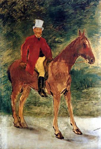 Edouard Manet - Reiterbildnis des Herrn Arnaud