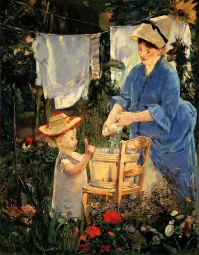 Edouard Manet - The Laundry