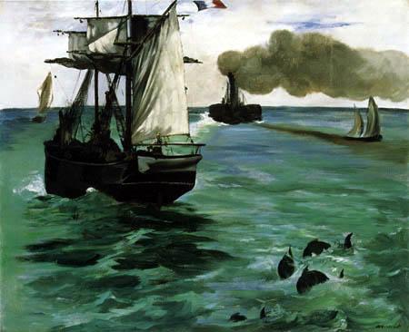 Edouard Manet - Seestück
