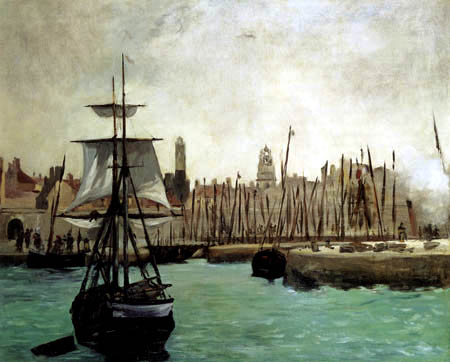 Edouard Manet - Der Hafen von Calais