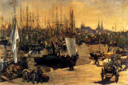 Edouard Manet - Der Hafen von Bordeaux