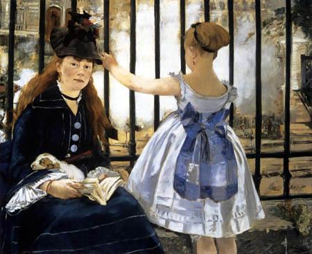 Edouard Manet - Die Eisenbahn