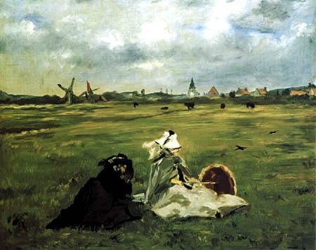 Edouard Manet - Die Schwalben