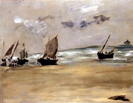 Edouard Manet - La Plage de Berck-sur-Mer