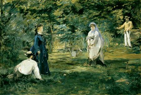 Edouard Manet - Die Krocketpartie