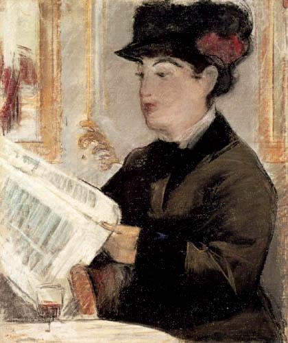 Edouard Manet - Reading woman