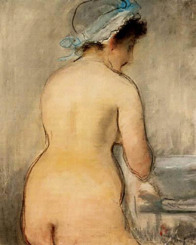 Edouard Manet - The toilet